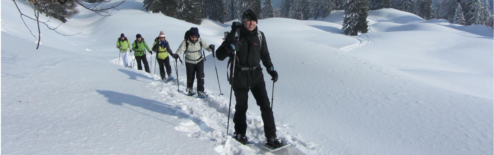 Schneeschuhtour Staufner Haus